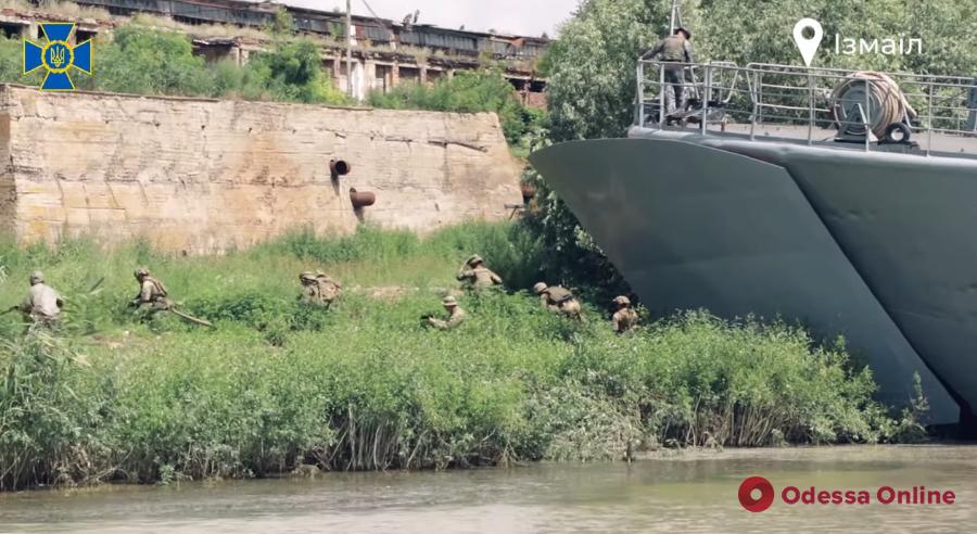 СБУ провела антитеррористические учения на юге Одесской области (фото, видео)