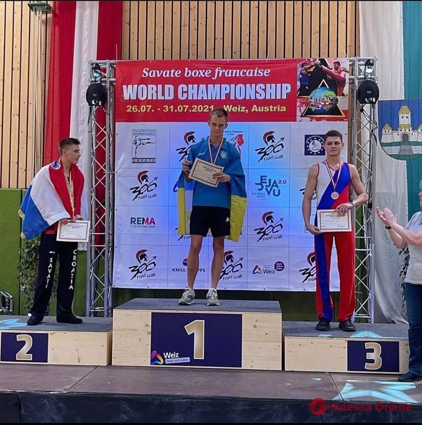 Сават: одесситы завоевали медали чемпионата мира по французскому боксу