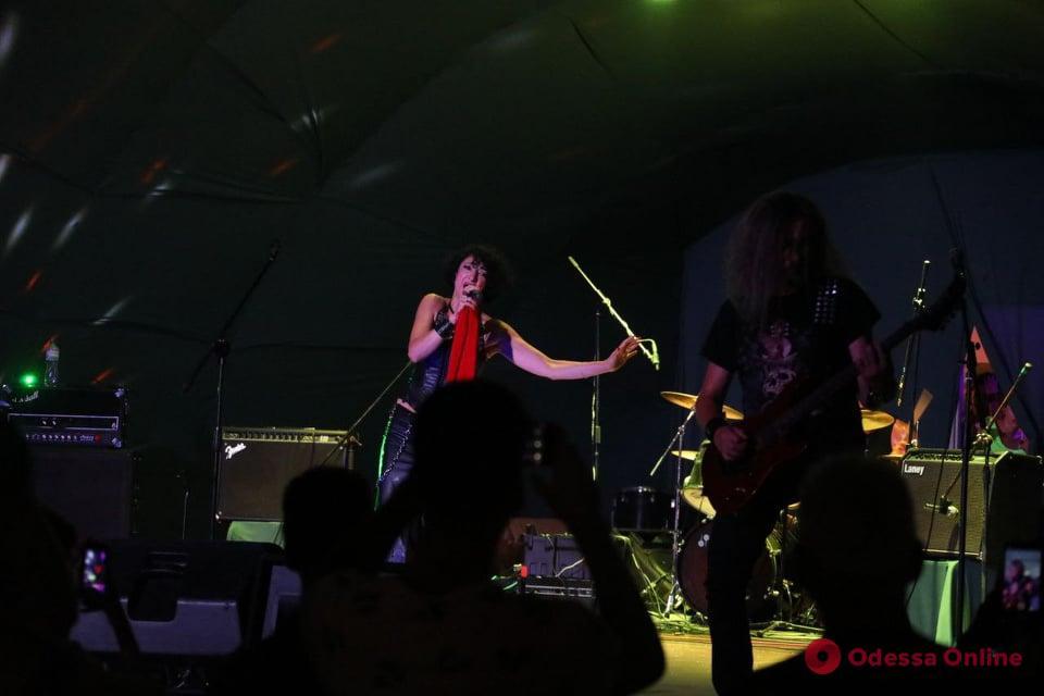 «Пикейные жилеты»: в парке Шевченко зажигали на рок-фестивале (видео)