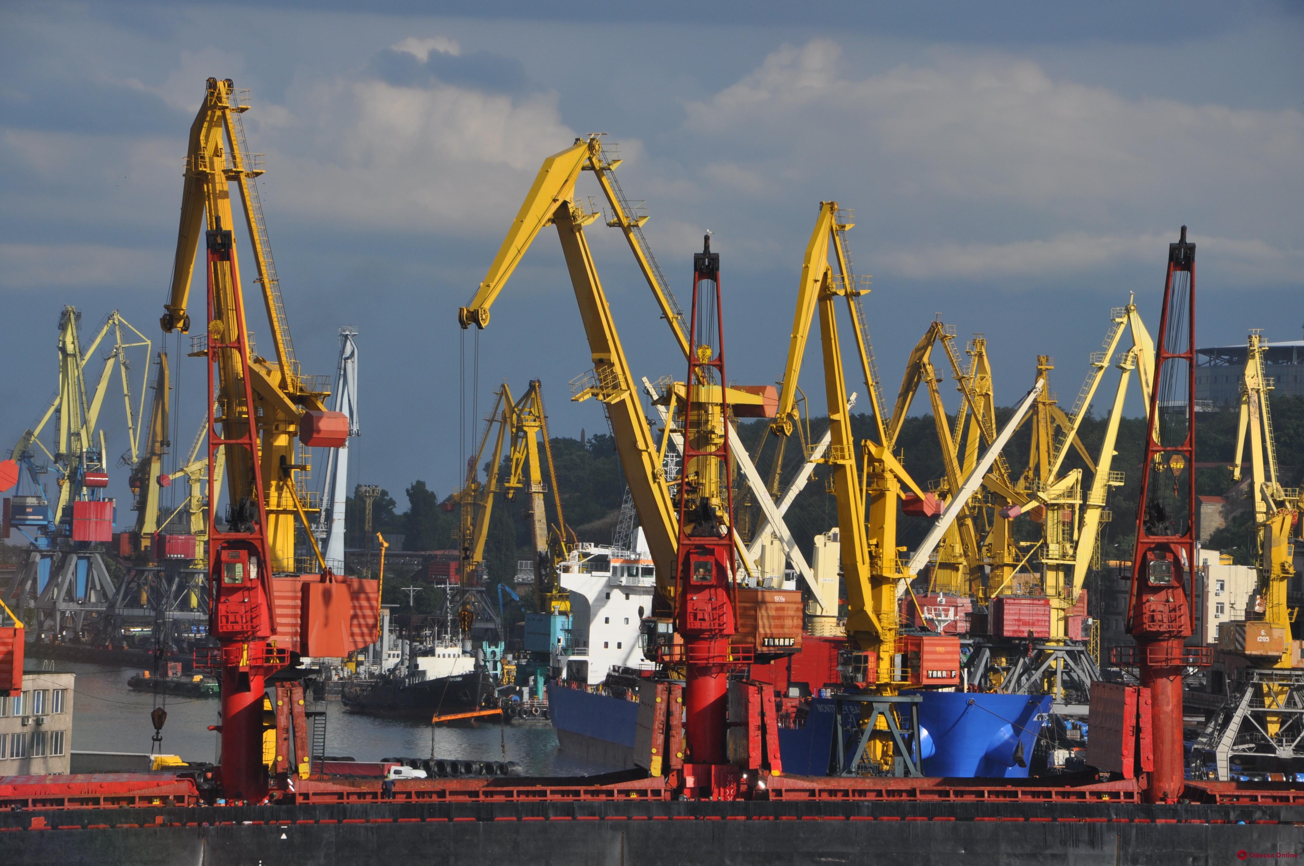 Растрата на миллион восемьсот тысяч: экс-руководителям Одесского порта объявили о подозрении