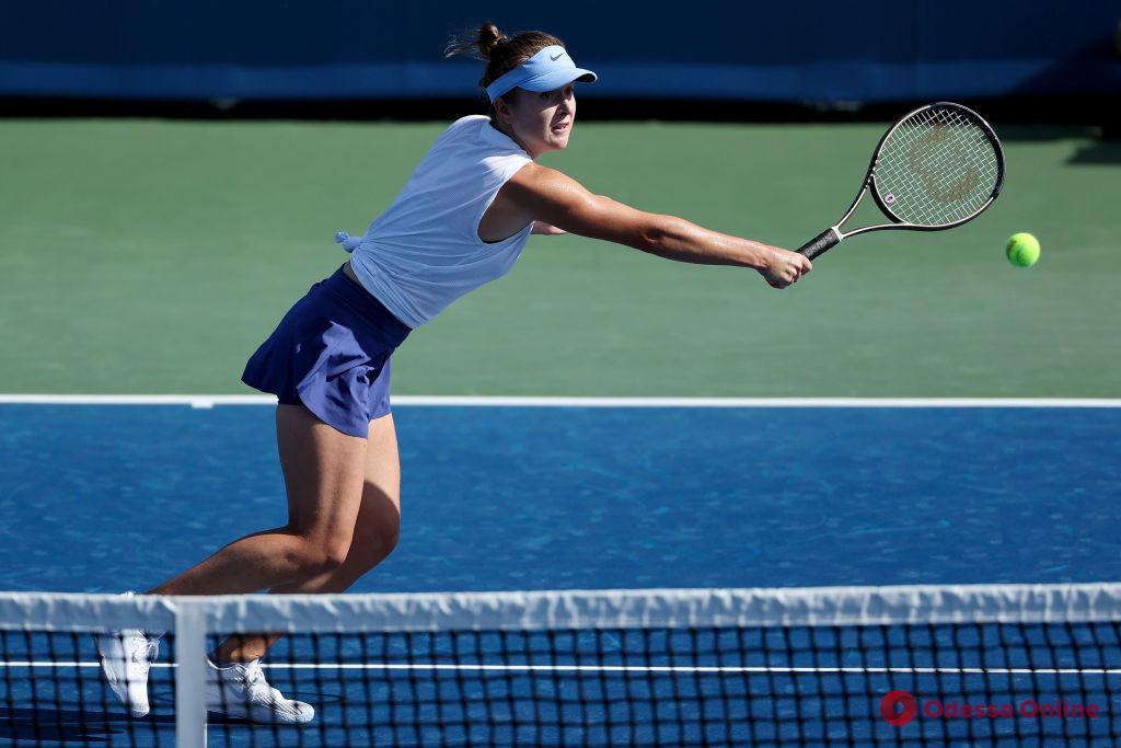 Теннис: уроженка Одессы упустила шанс сыграть в полуфинале турнира в США