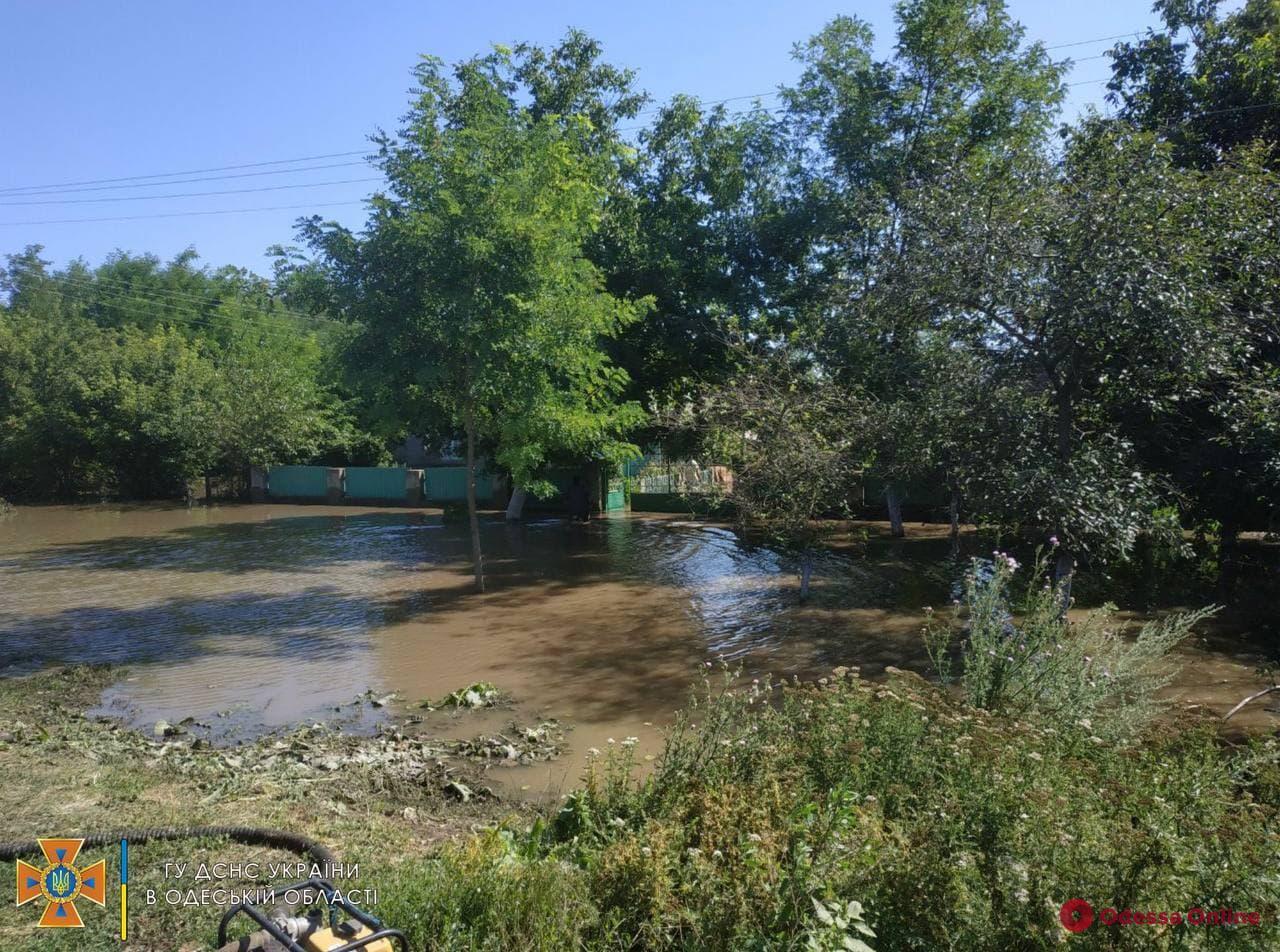 В Одесской области остаются затопленными свыше десятка дворов