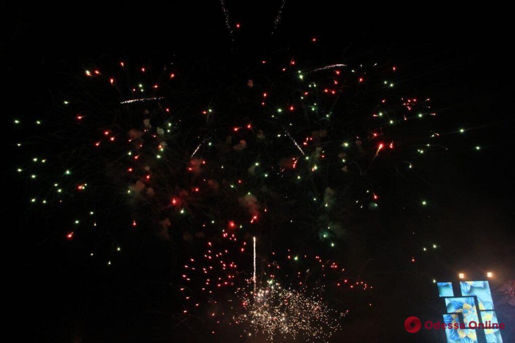 Финал праздника: День независимости Украины завершился в Одессе салютом (фото, видео)