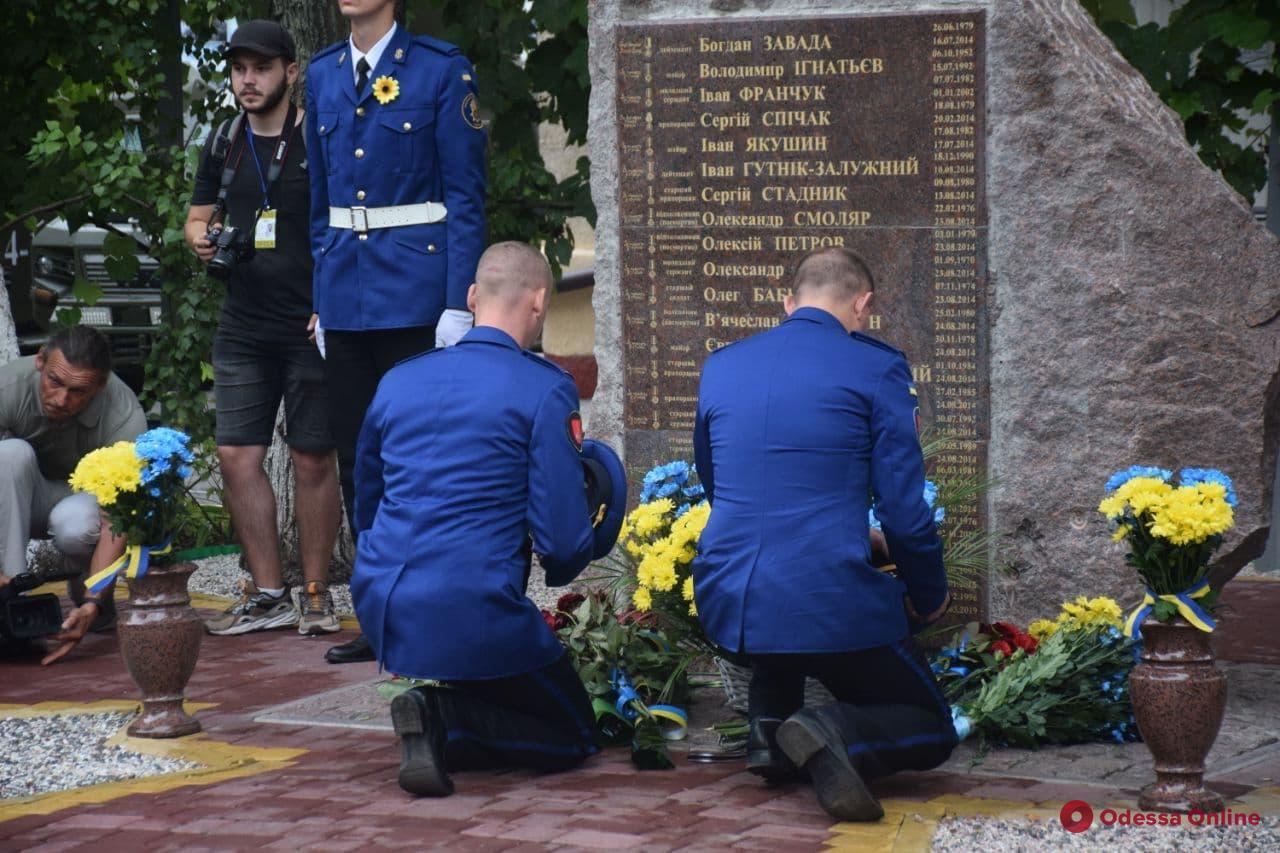 День памяти защитников Украины: в Одессе на территории части Нацгвардии открыли мемориал