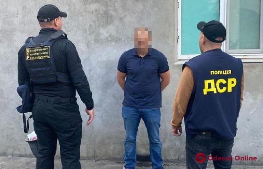 Под Одессой поймали участника группировки разбойников