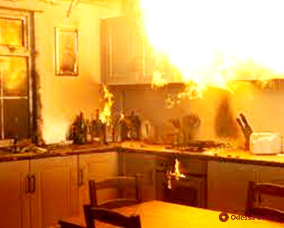 В Измаиле случился переполох из-за подгоревшей в квартире еды