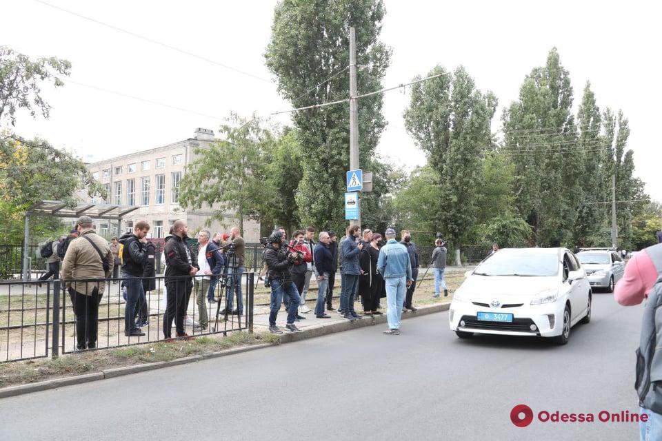 На Фонтане активисты перекрывали проезд возле санатория из-за нового строительства