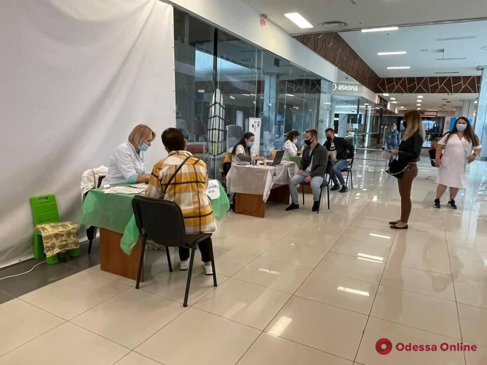 В Одессе за выходные сделали свыше десяти тысяч прививок от Covid-19