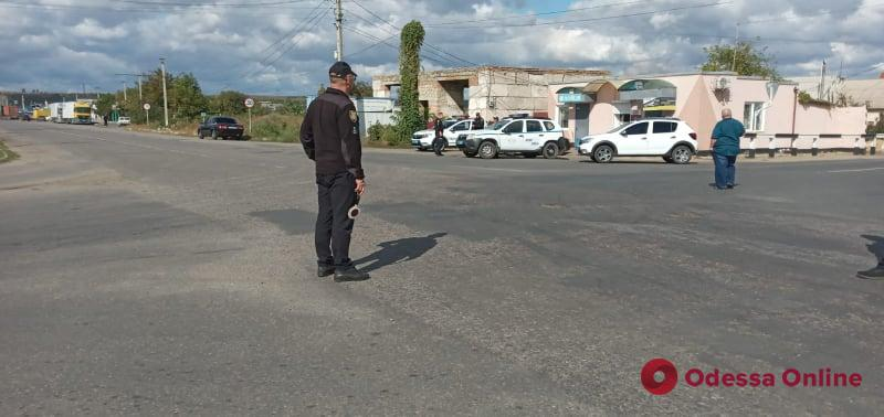 В Одесской области противники дистанционного обучения перекрывали трассу (фото)