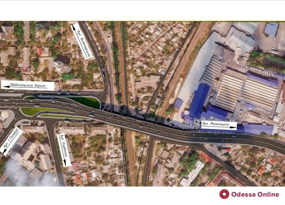 Удлиненный путепровод и кольцевое движение под ним: в мэрии показали, как будет выглядеть Ивановский мост после реконструкции
