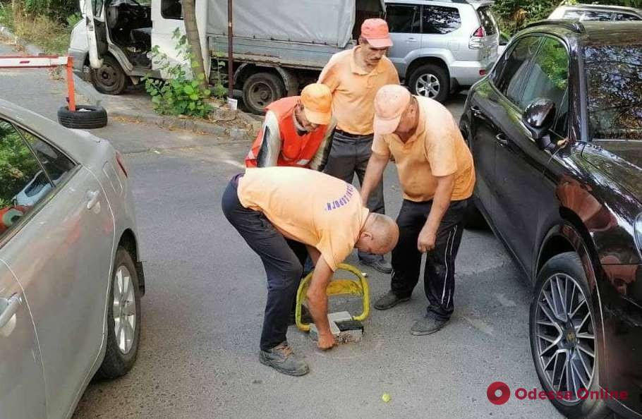 Борьба с незаконными юнипаркерами: коммунальщики провели очередной рейд (фото)