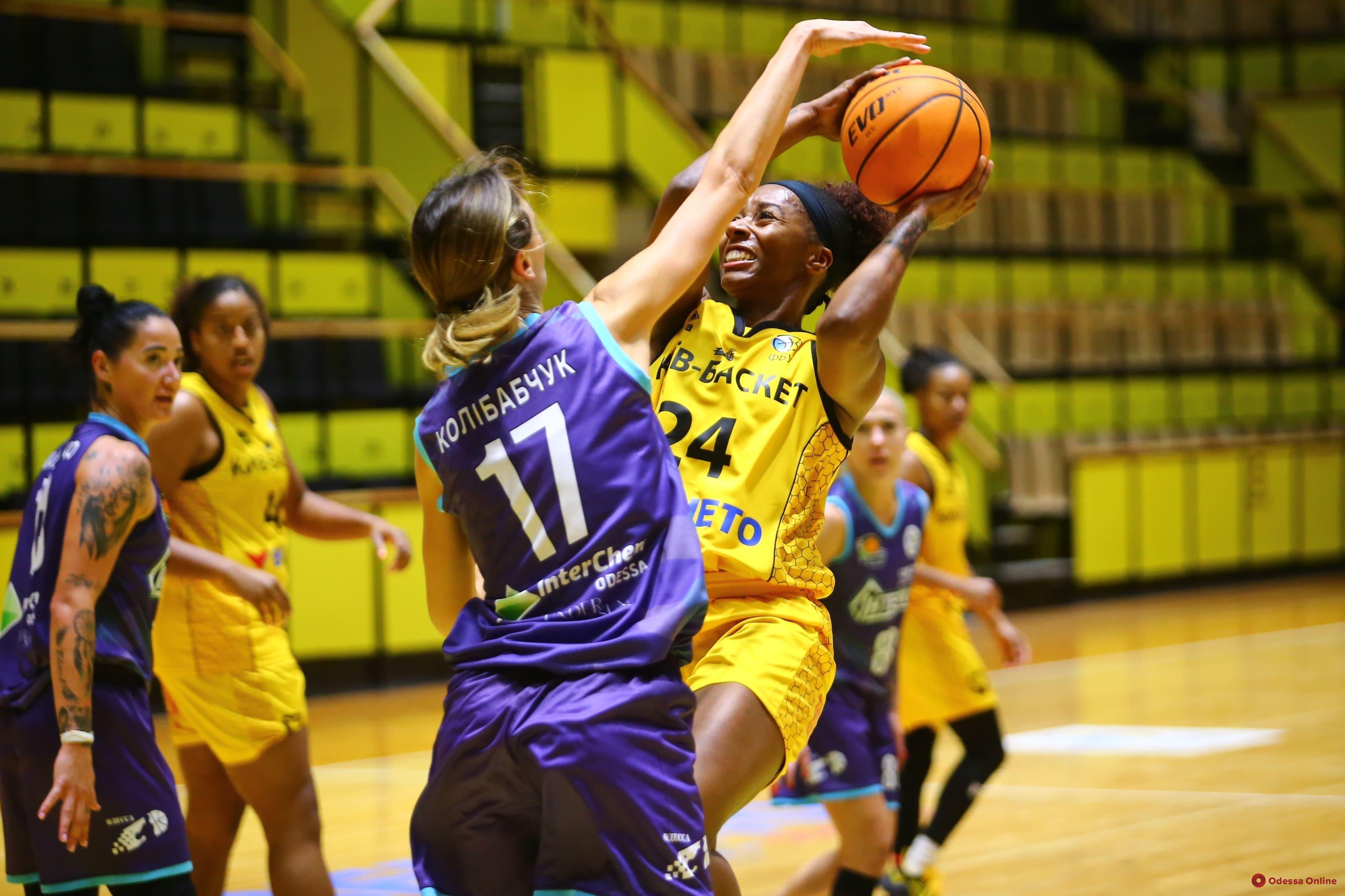 Одесские баскетболистки начали сезон с двух поражений от вице-чемпиона Украины