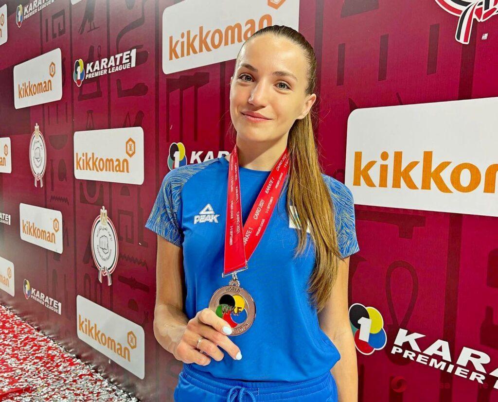 Каратистки из Одесской области завоевали две медали престижного международного турнира в Египте