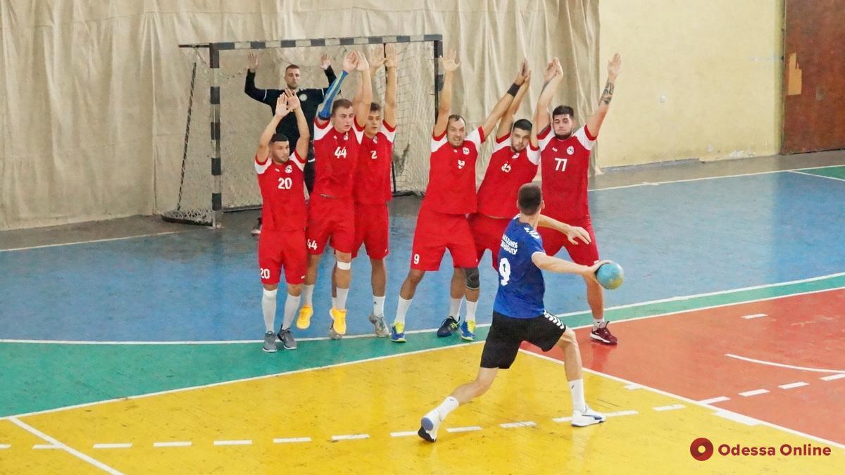 Гандбол: «Одесса» выиграла свой первый домашний матч в новом сезоне