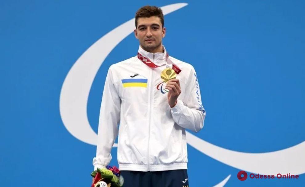 Украинский пловец Максим Крипак стал самым титулованным спортсменом Паралимпиады