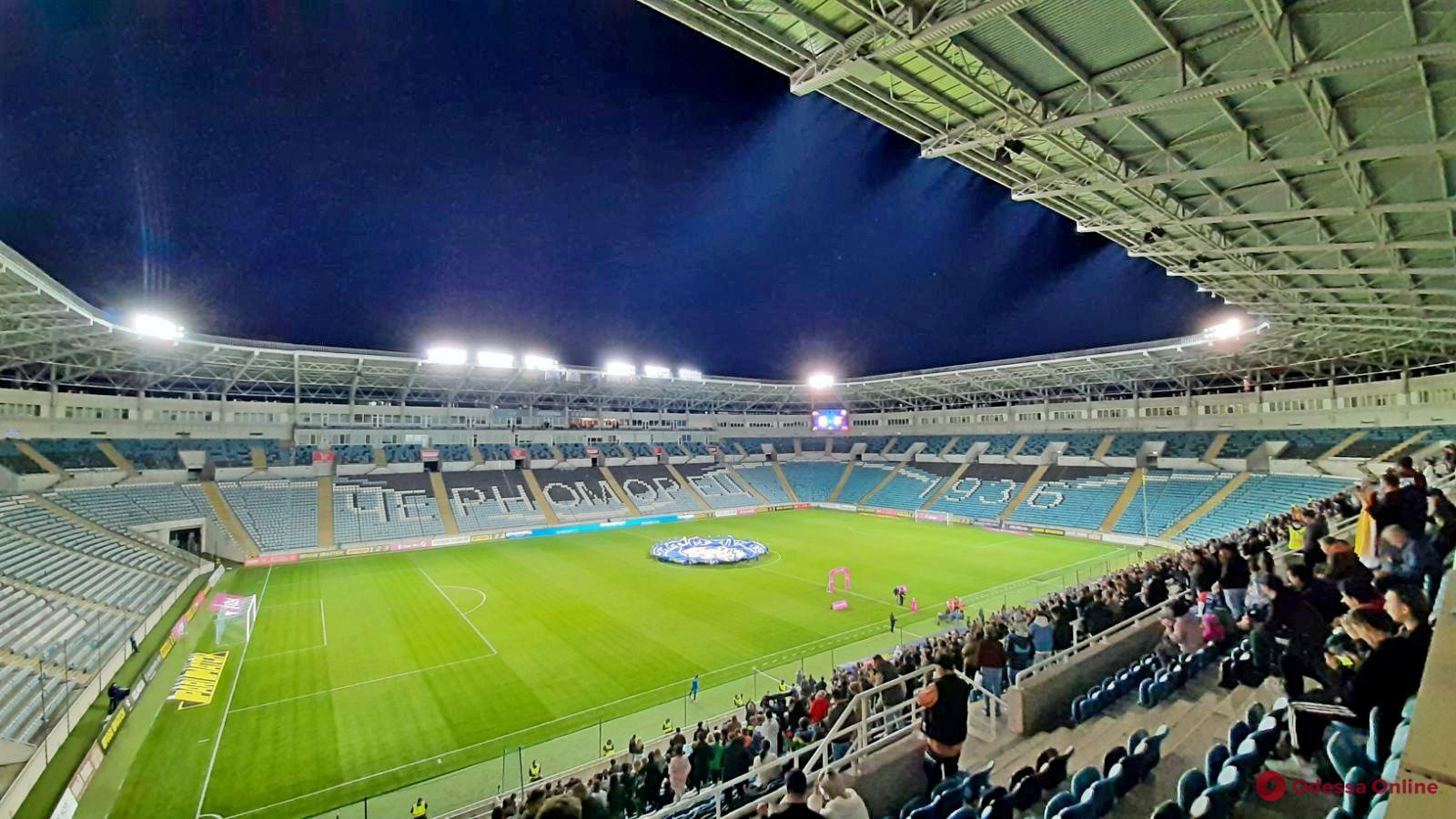 Футбол: «Черноморец» упустил победу над «Ингульцом»