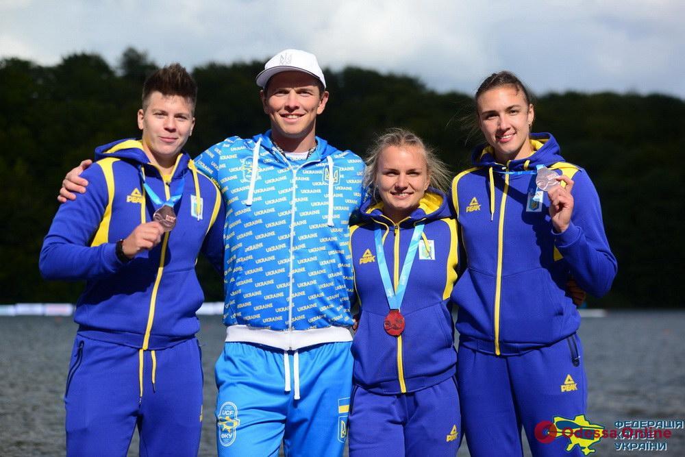 Гребля: представители Одесской области завоевали две медали чемпионата мира