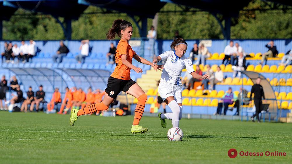 Несчастливый выезд в Счастливое: женская команда «Черноморца» проиграла со счетом 0:13