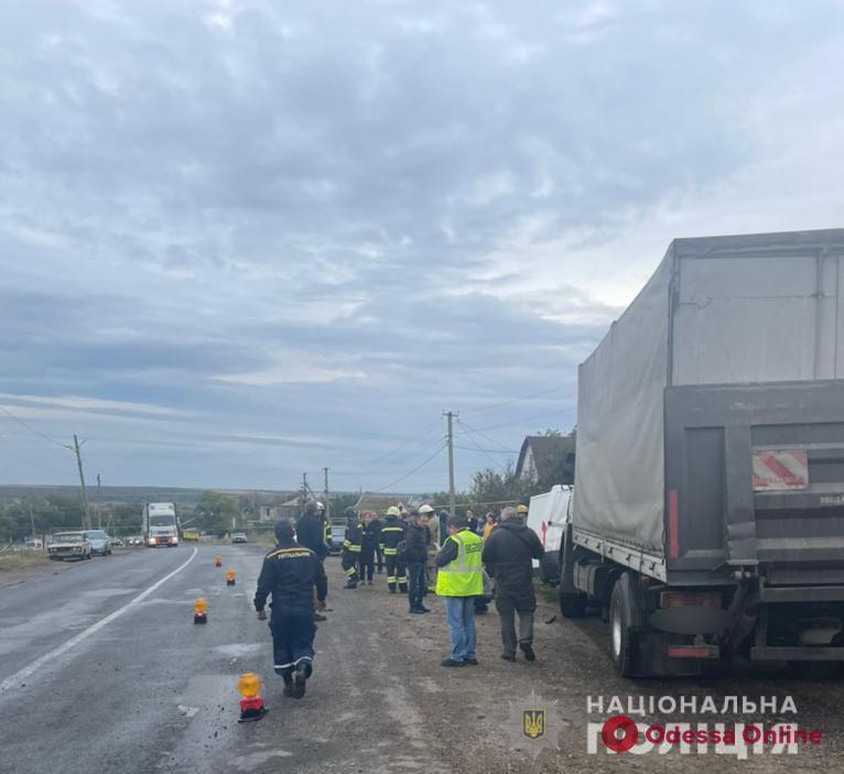 ДТП на трассе Одесса-Кучурган: пострадали 5 человек, в том числе и ребенок (фото)