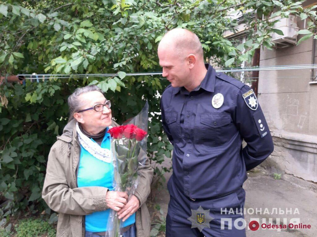 В Одессе ветеран МВД отметил 106-й день рождения