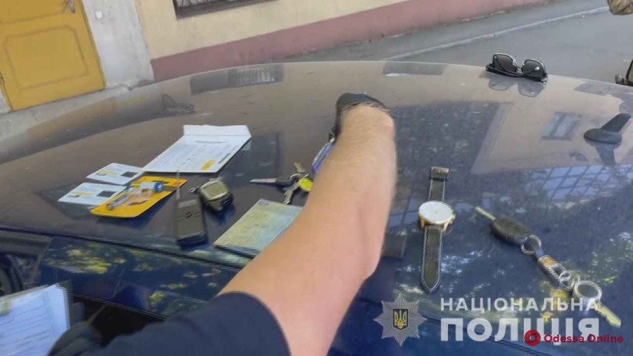 В Одессе поймали автоворов из РФ (видео)