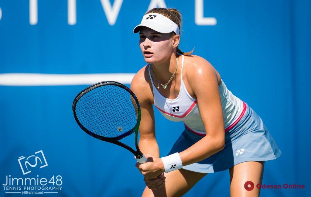 Одесская теннисистка не сумела пробиться в 1/8 финала турнира WTA в Чикаго