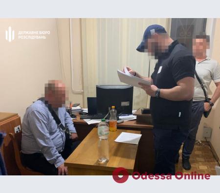 В Одесской области на взятке попался начальник станции туристической полиции