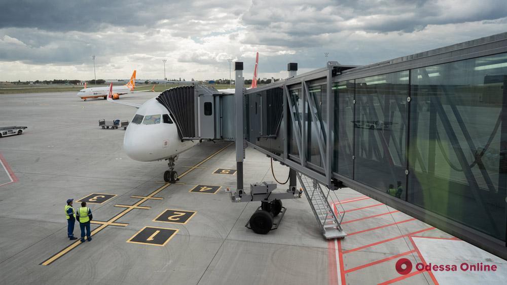 Второй телетрап в одесском аэропорту заработает к 15-20 сентября