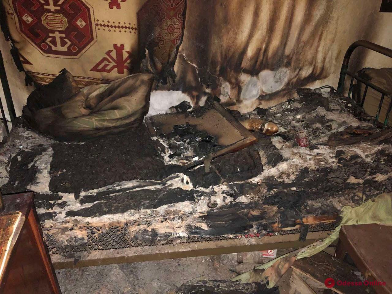 Неосторожное обращение с огнем: в Измаильском районе при пожаре погиб мужчина