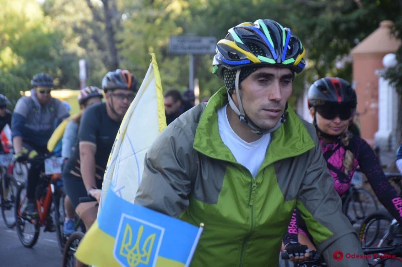 В Одессе стартовали «велосотка» и пеший поход по Поясу Славы
