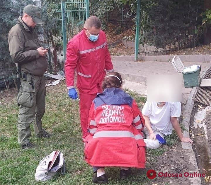 В Стамбульском парке сотрудники «Муниципальной стражи» помогли сломавшему ногу подростку