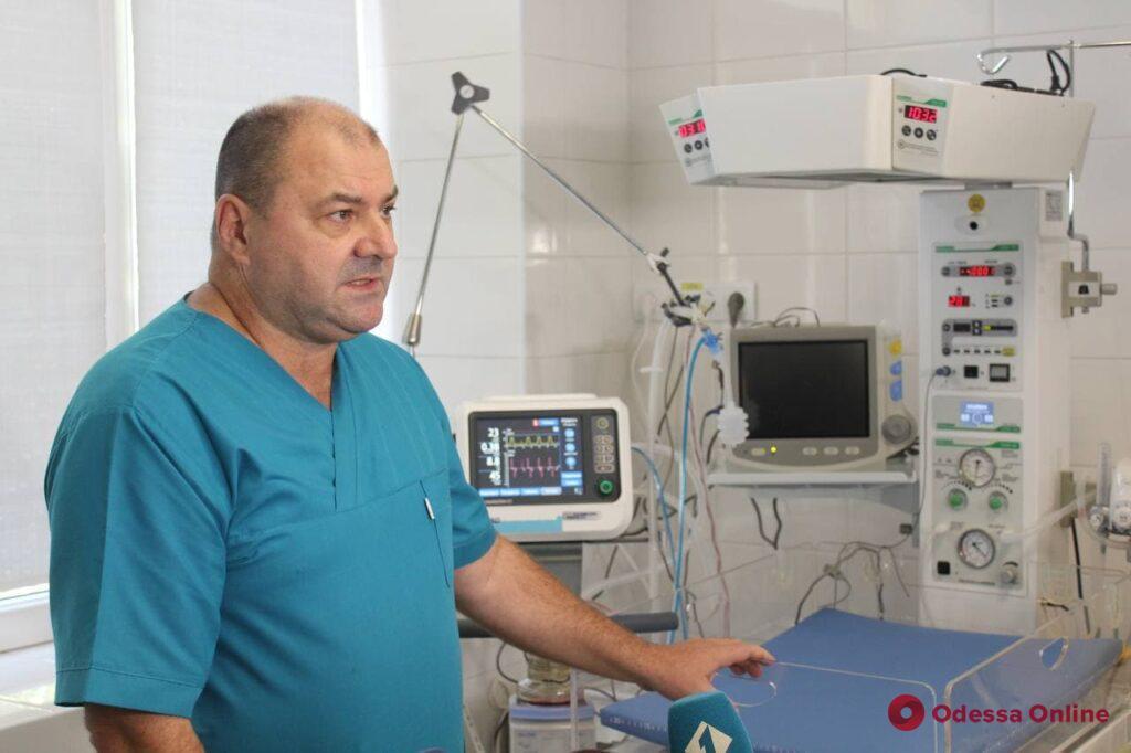 В отделении интенсивной терапии роддома №1 появилось новое современное оборудование