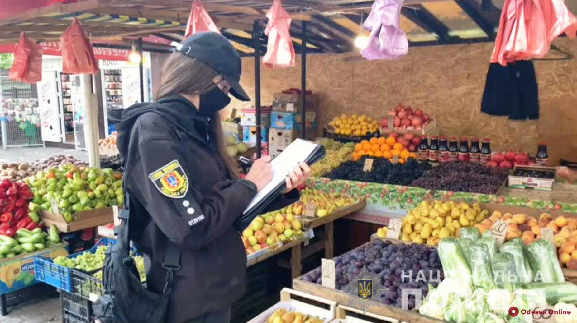 Борьба со стихийной торговлей: полицейские провели рейд в Суворовском районе (видео)