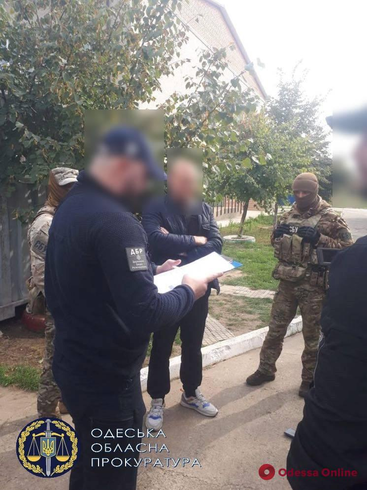 Руководителя одного из отделов Нижнеднестровского нацпарка поймали на взятке