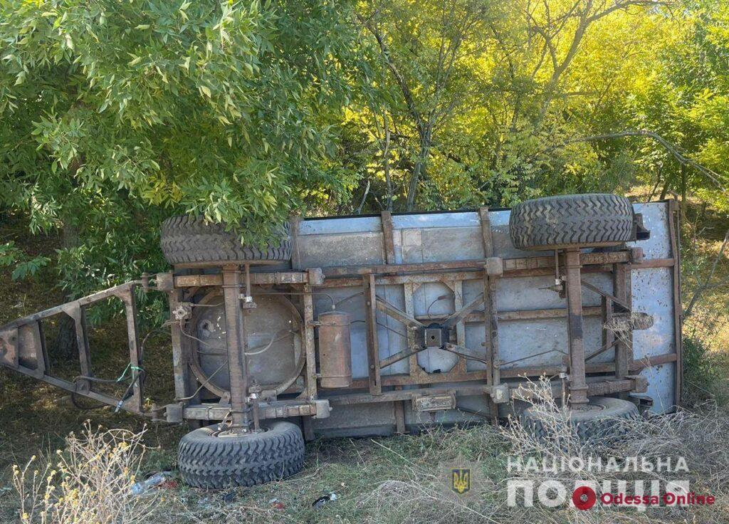 Смертельная авария под Одессой: пятеро детей перевернулись на тракторе