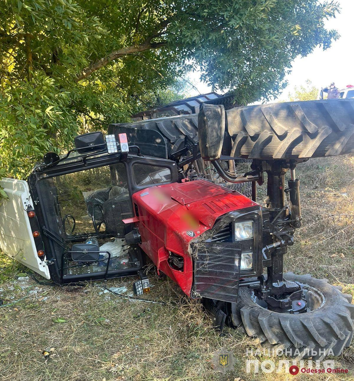 Погиб ребенок: в Одесской области полицейские поймали водителя трактора, сбежавшего с места смертельного ДТП