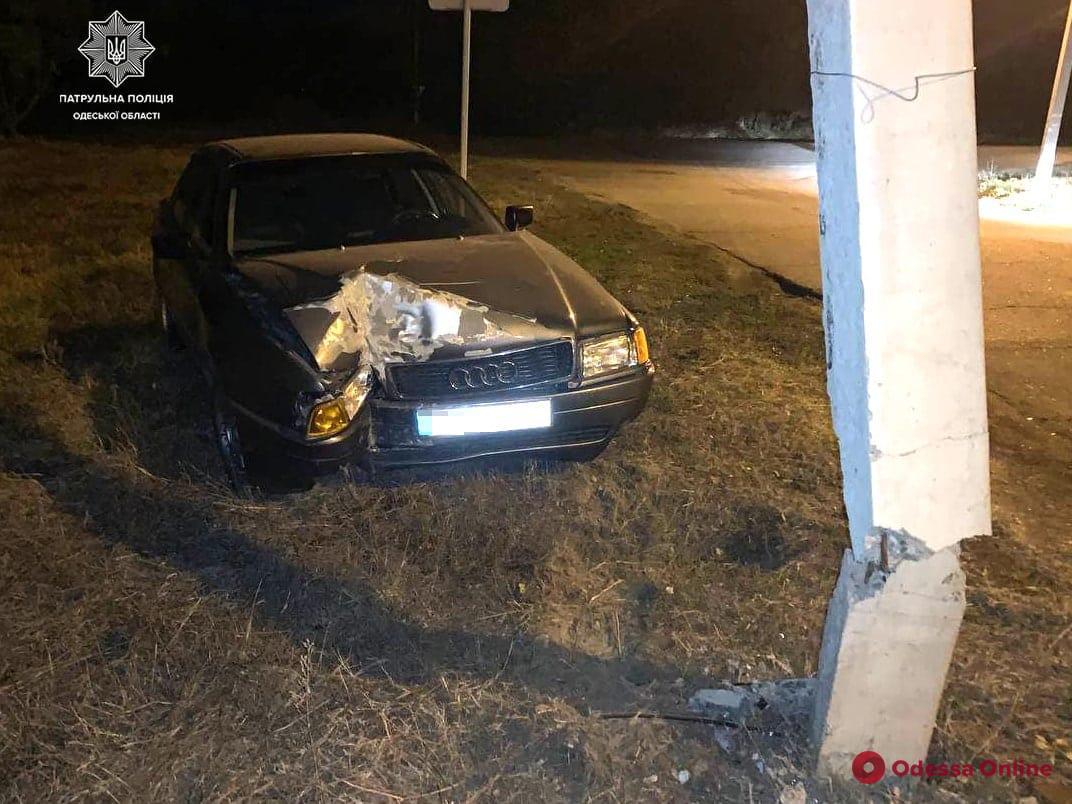 В Измаиле угодивший в ДТП пьяный водитель пытался откупиться от патрульных