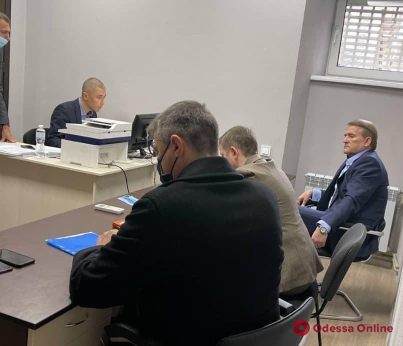 Медведчуку вручили ходатайство об аресте и залоге в миллиард гривень