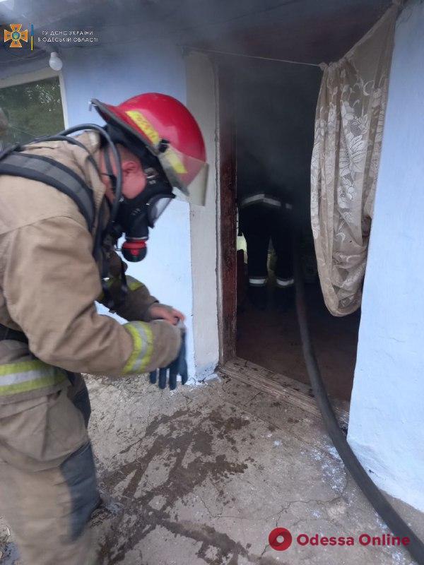 В Одесской области огонь унес жизни мужчины и женщины