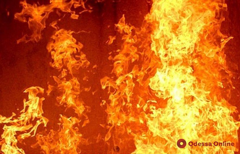 В Одесской области сгорела крыша жилого дома