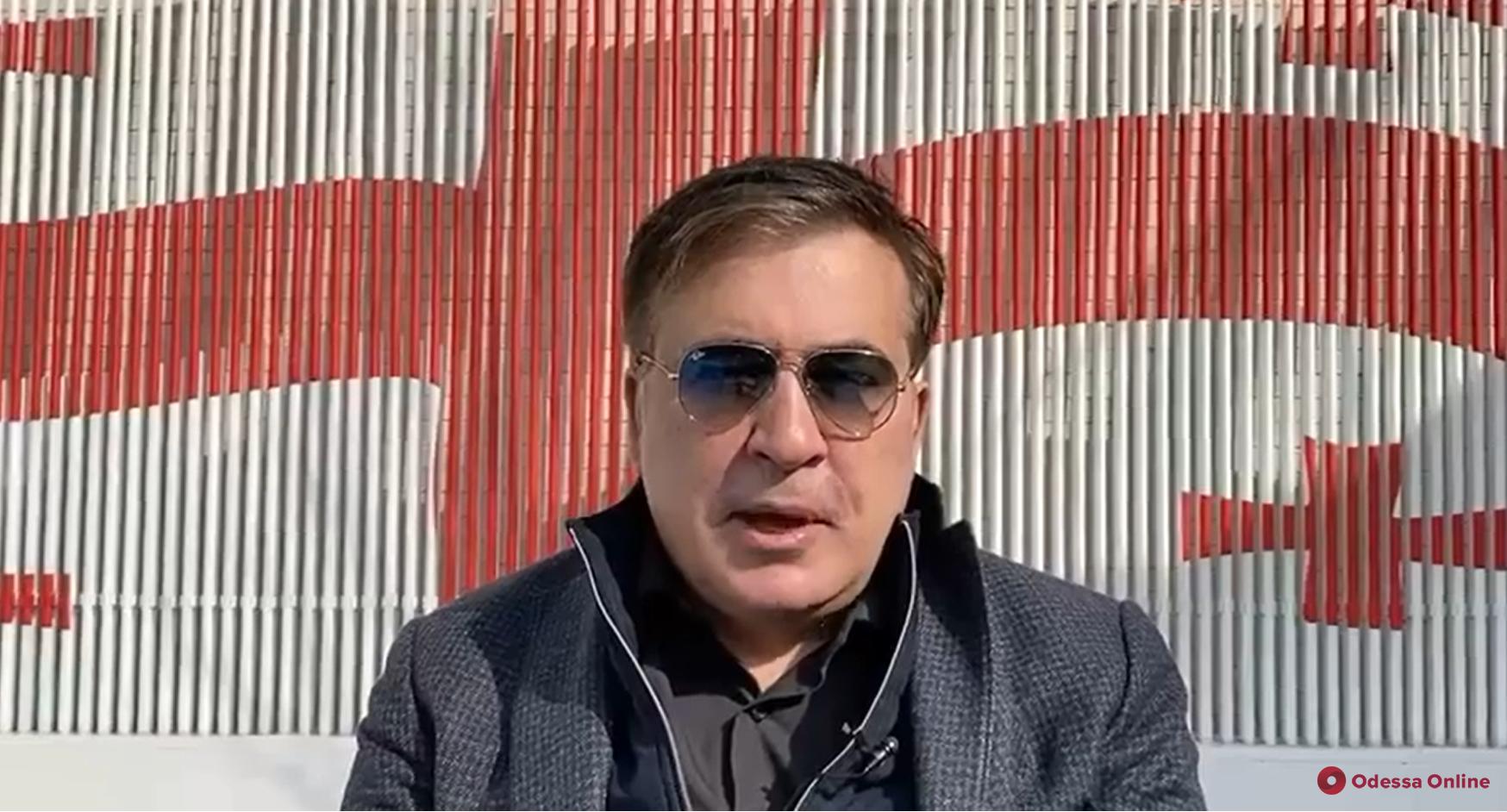 Михаил Саакашвили заявил о возвращении в Грузию, где он осужден на шесть лет тюрьмы