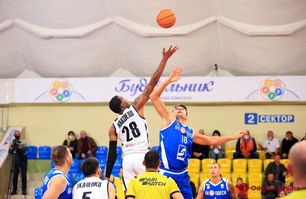 Баскетбол: дебютная победа «Одессы», поражения «ИнтерХима» и «Химика»