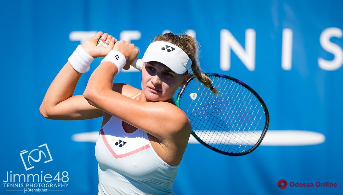Одесская теннисистка не сумела пробиться в 1/16 финала турнира в США