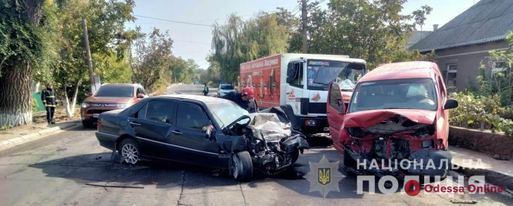 В тройном ДТП в Белгороде-Днестровском погиб мужчина