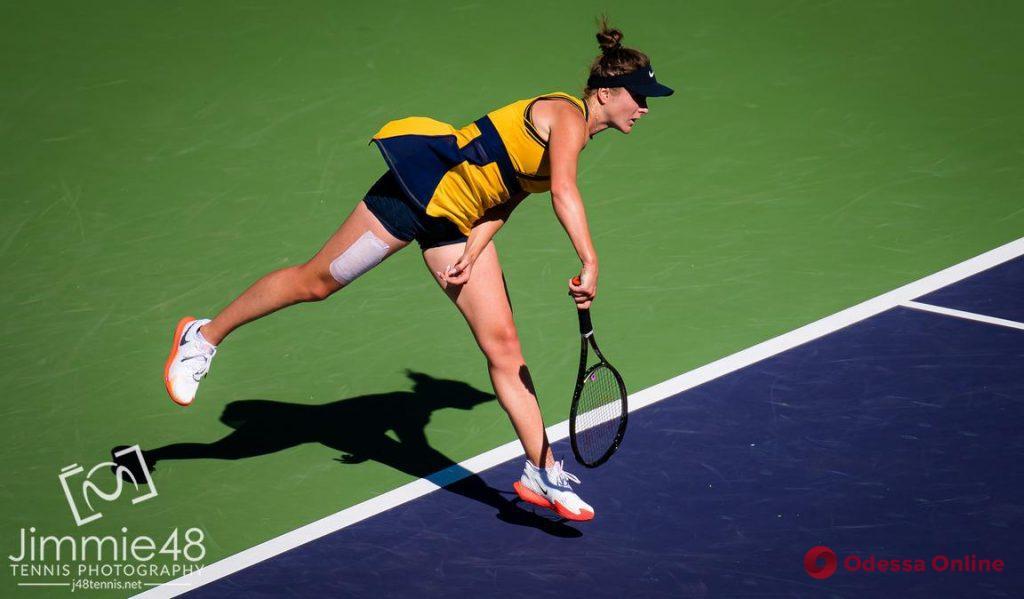 Теннис: травмированная уроженка Одессы без шансов проиграла американке в США