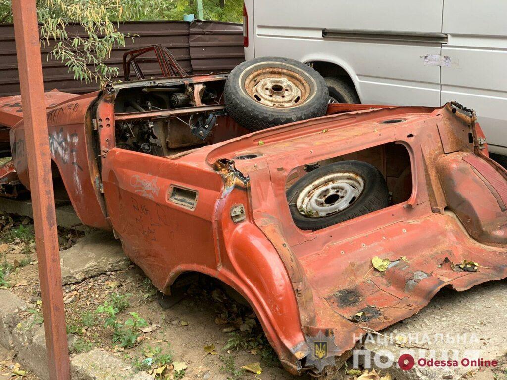 Одессит сдал чужую машину на металл: его будут судить за угон