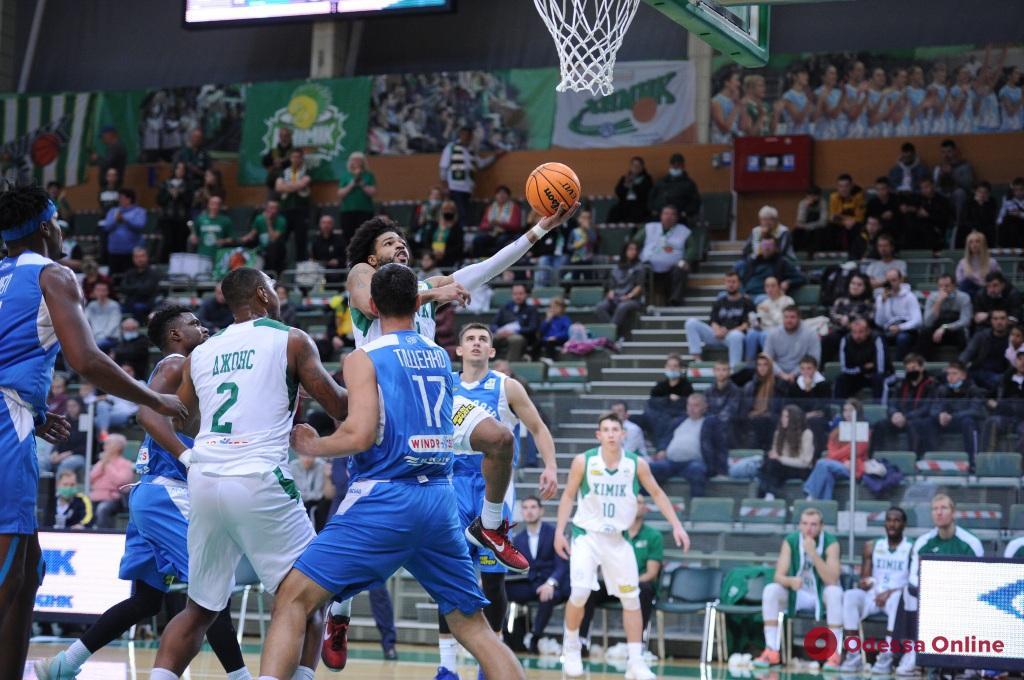 Баскетбол: «Химик» и «Одесса» по-разному сыграли в четвертом туре Суперлиги