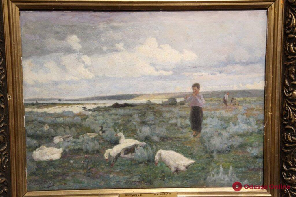 В Художественном музее открылась выставка «100 лет спустя. Кириак Костанди»