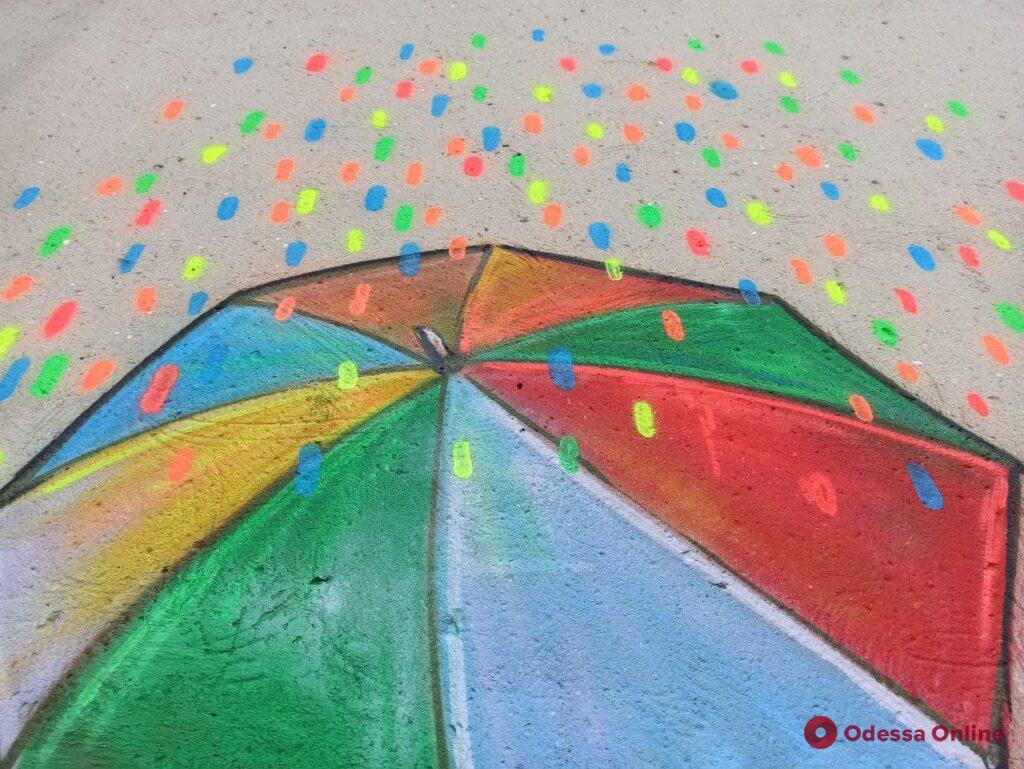Одесские Бэнкси: возле Нового рынка на стене появился новый рисунок (фото)