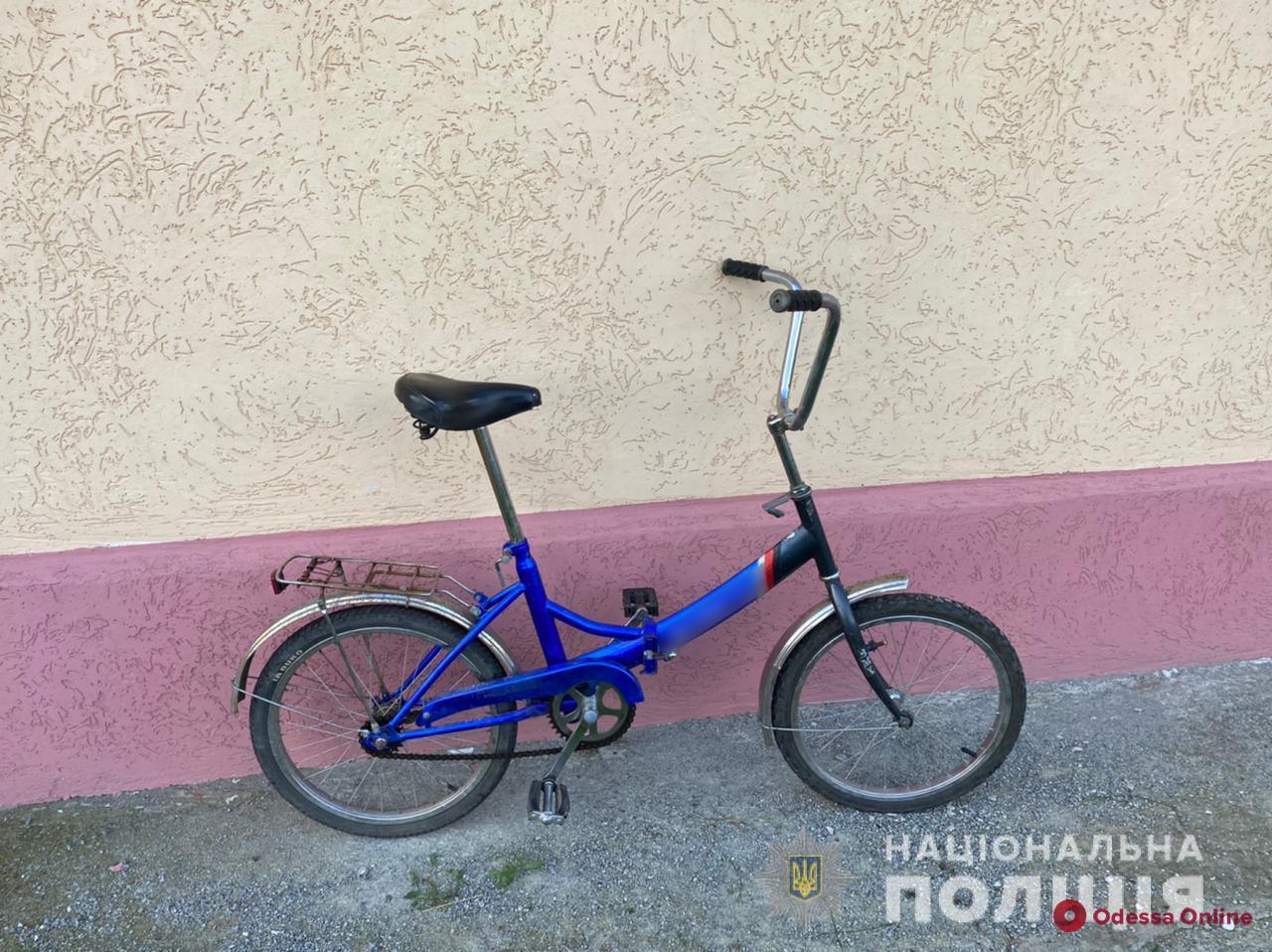 Рецидивист из Одесской области попался на краже детского велосипеда. Его будут судить в седьмой раз